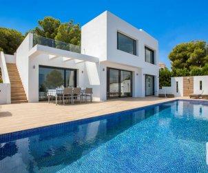 Villa   Benissa para 8 personas con piscina privada y aere acondicionado p0