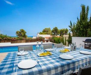 Villa   Benissa para 8 personas con piscina privada y aere acondicionado p2
