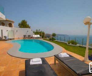 Villa  en Benitachell  para 10 personas con piscina privada, vista mar y aire acondicionado  p0