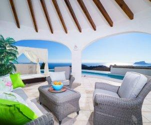 Villa   Moraira para 6 personas con piscina privada p0