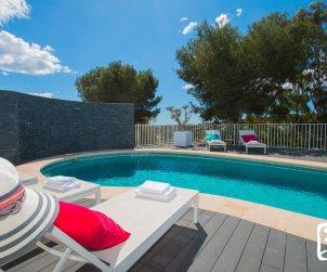 Villa  en Moraira  para 8 personas con piscina privada, vistas al mar y aire acondicionado  p2