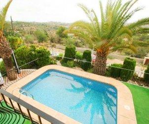 Villa  en Benissa  para 4 personas con piscina privada y aere acondicionado  p1