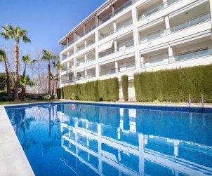 Apartamento   Platja d'Aro para 4 personas con piscina comunitaria p0