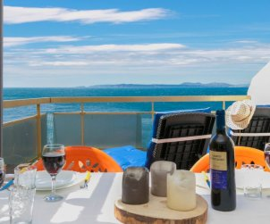 Apartamento   Rosas para 3 personas con panorámicas vista mar p0
