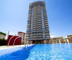 Apartamento   Calpe para 2 personas con piscina comunitaria p0