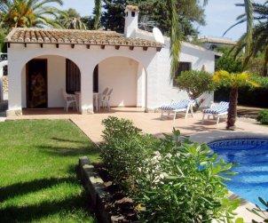 Villa   Moraira para 4 personas con piscina privada p1