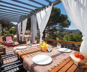 Villa   Argentona para 7 personas con piscina privada p0