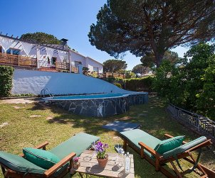 Villa   Argentona para 7 personas con piscina privada p1