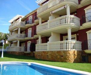 Apartamento  en Alcoceber  para 6 personas con piscina compartida, aire acondicionado y estacionamiento  p1