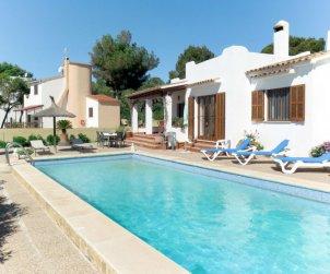 Villa   Cala Pí para 6 personas con piscina privada p0