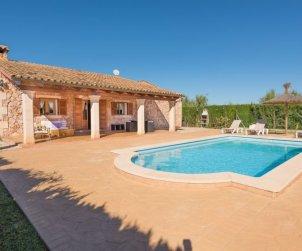 Villa   Sencelles para 4 personas con piscina privada p0
