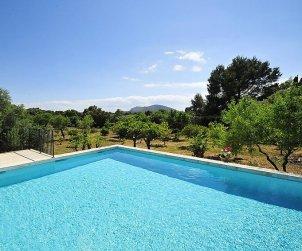 Villa   Búger para 8 personas con piscina privada p0