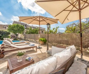 Villa   Campanet para 6 personas con piscina privada p0