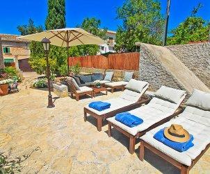 Villa   Campanet para 6 personas con piscina privada p1