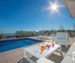 Villa moderna  Moraira  para 8 personas con piscina privada, vista mar y aire acondicionado  p1