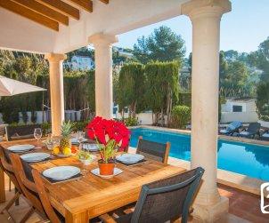 Villa  en Benissa  para 8 personas con piscina privada y cerca del mar  p2