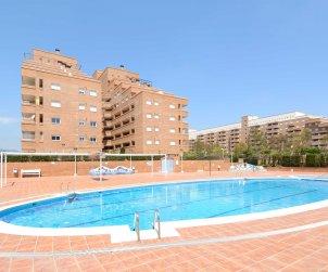 Apartamento  en Oropesa del Mar  para 4 personas con piscina comunitaria, aire acondicionado y parking  p0