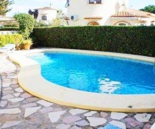 Villa  en Denia  para 6 personas con piscina privada y cerca del mar  p1