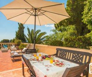 Villa  en Benissa  para 10 personas con piscina privada y vista mar  p2