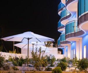 Apartamento  en Alcossebre  para 5 personas en complejo hotelero con piscina comunitaria, gran terraza frente al mar  p2