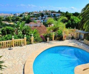 Villa  en Denia  para 6 personas con piscina privada y hermosa vista mar  p0
