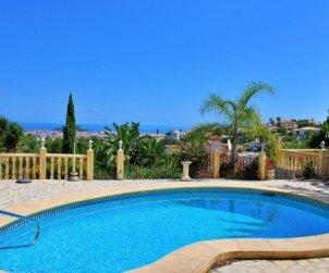 Villa  en Denia  para 6 personas con piscina privada y hermosa vista mar  p2