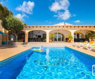 Villa   Benissa para 8 personnes con piscine privée p0