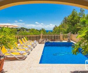 Villa   Benissa para 8 personnes con piscine privée p1