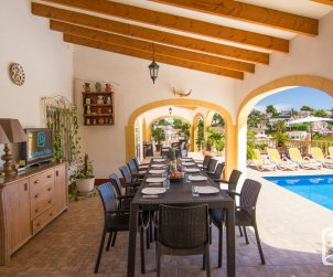 Villa   Benissa para 8 personnes con piscine privée p2