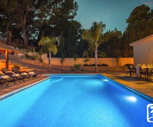 Villa   Benissa para 11 personnes con piscine privée p1