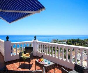 Apartamento   Torrox Costa para 4 personas con piscina comunitaria p1