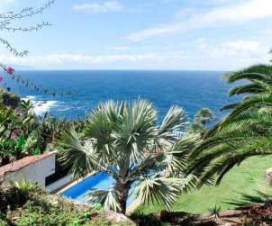 Villa   La Matanza de Acentejo para 4 personas con piscina comunitaria p0