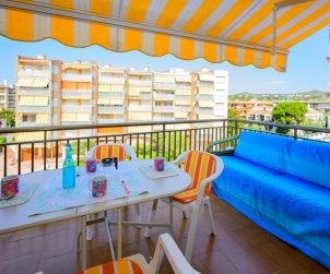 Apartamento   Cunit para 6 personas con vista mar p1