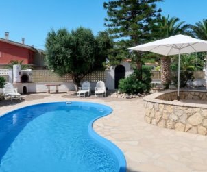 Villa   Miami Platja para 8 personas con piscina privada p1