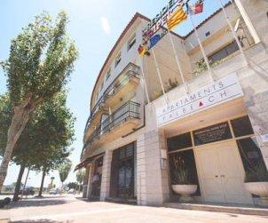Apartamento   Palafrugell para 4 personas con aparcamiento en el garaje del edificio p0