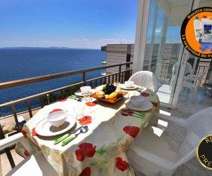 Apartamento  en Rosas  para 8 personas con vista mar   p0