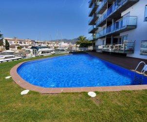 Appartement   Rosas para 5 personnes con piscine commune p1