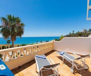 Villa   Torrox Costa para 6 personas con piscina comunitaria p1