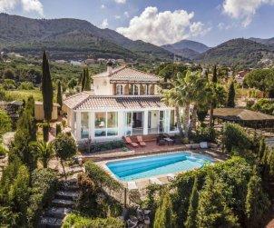 Villa   Alhaurín de la Torre para 8 personas con piscina privada p0