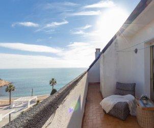 Villa   L'Ampolla para 8 personas con vista mar p0