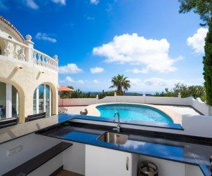 Villa   Moraira para 8 personas con piscina privada p2