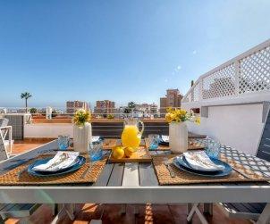 Apartamento   Benalmadena para 4 personas con vista mar p0