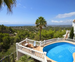 Villa   Altea para 6 personas con piscina privada p1