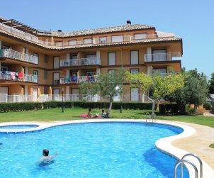 Apartamento   Alcoceber para 6 personas con piscina comunitaria y aere acondicionado p0