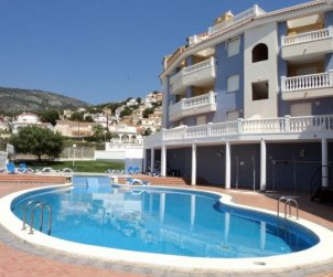 Apartamento   Alcoceber para 4 personas con piscina comunitaria y aere acondicionado p0