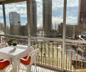 Apartamento   Benidorm para 6 personas con aparcamiento en la propiedad p1