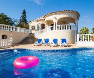 Villa   Calpe para 12 personas con piscina privada, vista mar y aere acondicionado p0