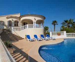 Villa   Calpe para 12 personas con piscina privada, vista mar y aere acondicionado p2