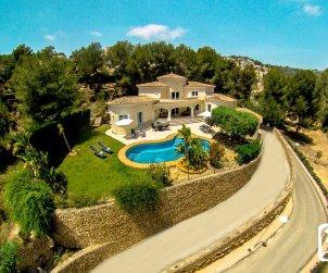 Villa   Benissa para 6 personas con piscina privada y aere acondicionado p0
