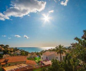 Villa   Calpe para 6 personas con piscina privada y vista mar p0